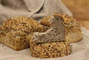 Sunflower Bread with Chia Seeds